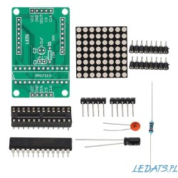 MAX7219 Dot LED Matrix for Arduino