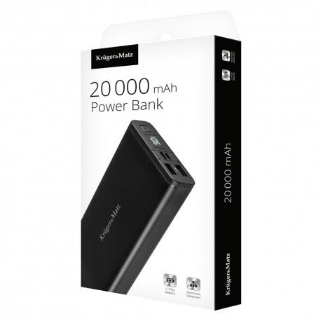 PowerBank Kruger&Matz 20000 mAh Li-Poly