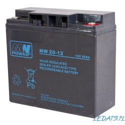 Akumulator MW Power MW 20-12 (20Ah 12V)