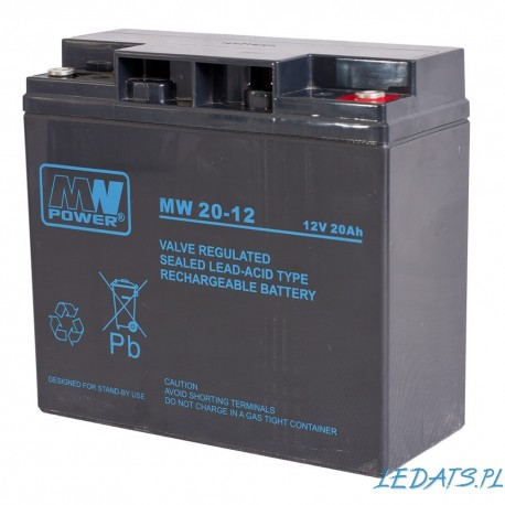 Akumulator MW power 12V 20Ah