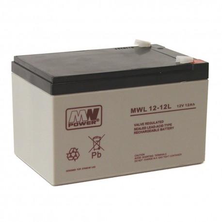 Akumulator MW Power MWL 12-12L (12Ah 12V)