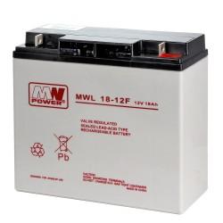 Akumulator MW Power MWL 18-12 (18Ah 12V)