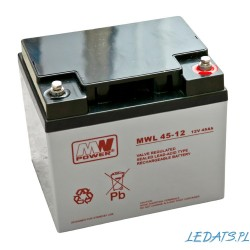 Akumulator MW Power MWL 45-12 (45Ah 12V)