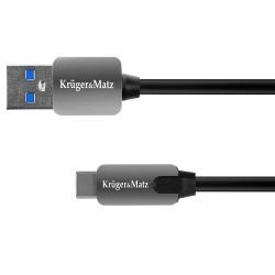 Kruger&Matz Kabel USB typu C, 100 cm