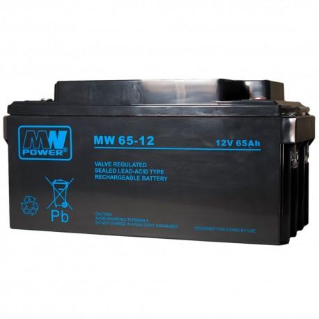 Akumulator MWL power 12V 65Ah
