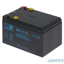 Akumulator MW Power MW 12-12 (12Ah 12V)