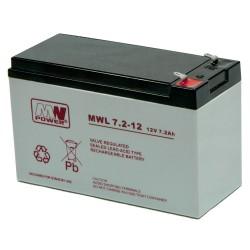 Akumulator MW Power MWL 7,2-12 (7,2Ah 12V)