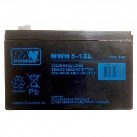 Akumulator MW Power MWH 5-12L (6Ah 12V)