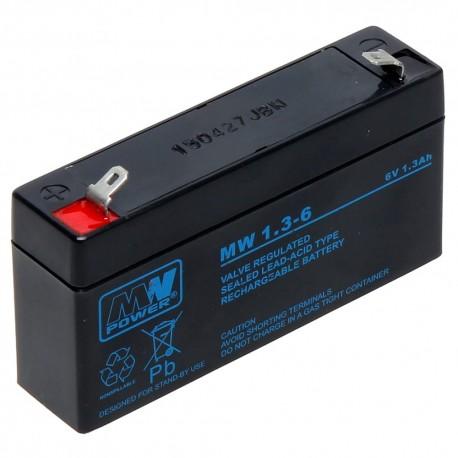 Akumulator MW Power MW 1,3-6 (1,3Ah 6V)
