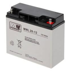 Akumulator MW Power MWL 20-12 (20Ah 12V)