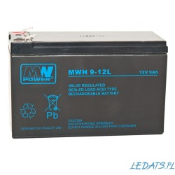 Akumulator MW Power MWH 9-12L (9Ah 12V)