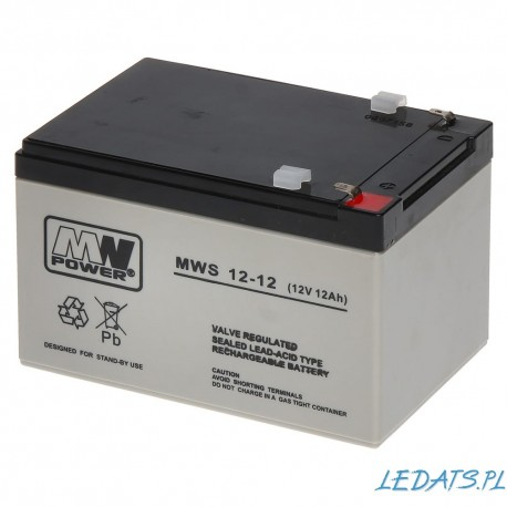 Akumulator MW Power MWS 12-12 (12Ah 12V)