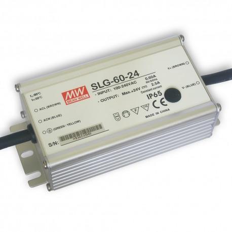 Zasilacz LED 60W (24V 2,5A) Mean Well SLG-60-24
