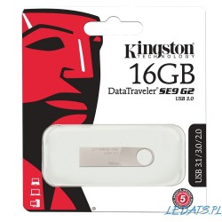 Kingston Pendrive 16GB DT100 Gen 3 USB 3.0