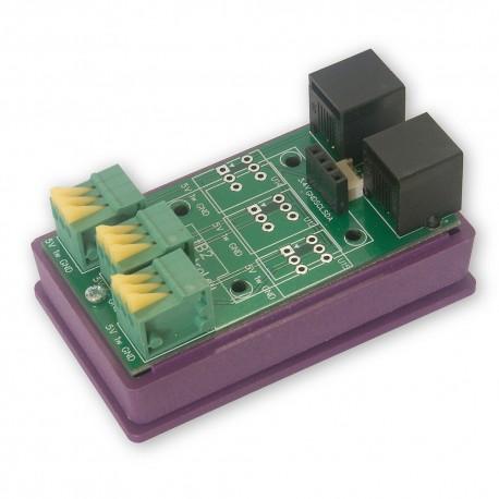 tB2 - płytka rozszerzeń z 1-Wire, I2C, OLED