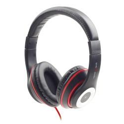 GEMBIRD słuchawki z mikrofonem LOS ANGELES czarne