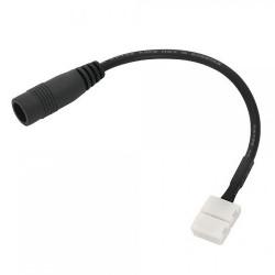 Gniazdo 2.1/5.5 - Konektor do taśmy LED 8 mm