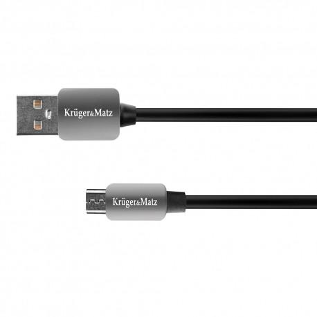 Kabel USB - micro USB wtyk-wtyk 1 m Kruger&Matz
