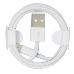 Kabel USB - LIGHTNING 1m biały FOXCONN do iPhone, iPad, iPod