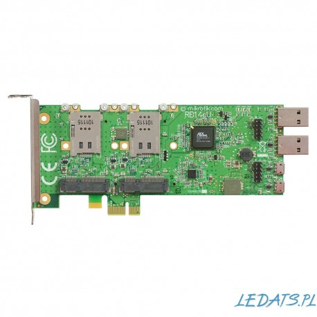 FOUR SLOT MINIPCI-E TO PCI-E ADAPTER RB14E