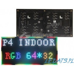 LED dot matrix 32x64 RGB 256mmx128mm module P4 InDoor HUB75 SMDKatalog Products