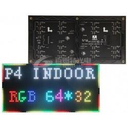 LED dot matrix 64x32 RGB 256mmx128mm module P4 InDoor HUB75 SMD