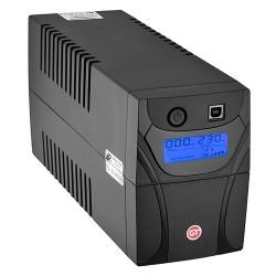GT POWERbox UPS 850VA/480W 2x Schuko