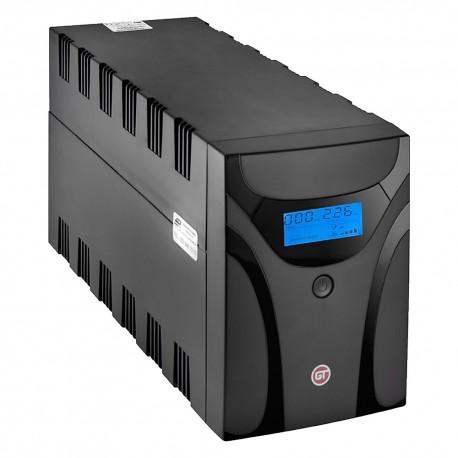 GT POWERbox UPS 1200VA/600W 3x Schuko