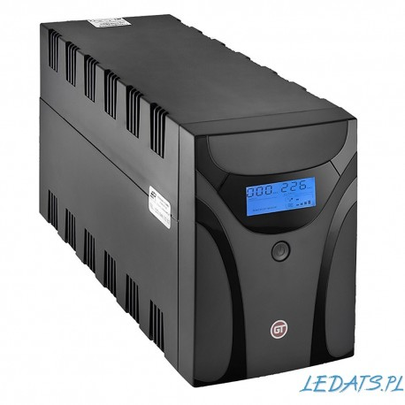 GT POWERbox UPS 2200VA/1200W 2x Schuko + 2x IEC C13