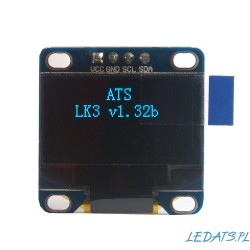 "OLED 0.96"" I2C SERIAL Blue Display Module LK3"