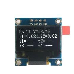 """LCD OLED 1,3"""" I2C SERIAL SH1106 White Display Module"""