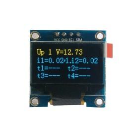 "OLED 0.96"" I2C SERIAL Yellow Blue Display Module"
