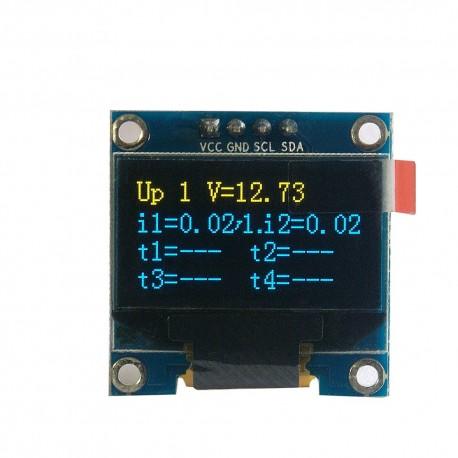 "OLED 0.96"" I2C SERIAL Yellow Blue Display Module LK3"