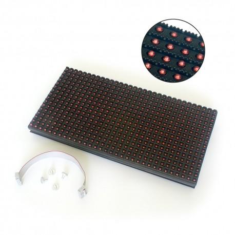 LED DOT MATRIX PANEL 32x16 P10 HUH12 RED Zestawy 4szt