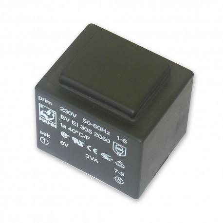 Voltage TRANSFORMER 3VA HAHN PCB