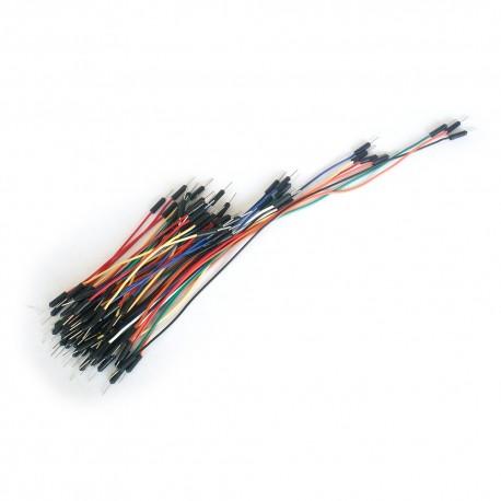 Zestaw 65 szt kabli połączeniowych do płytek stykowych