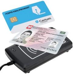 Czytnik kart ACR1281U-C1 - polskie Dowody Osobiste