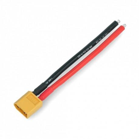 Wtyk XT60 męski M z kablami 10cm