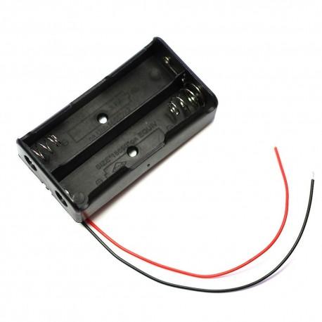 Koszyk na 2 baterie typu 18650