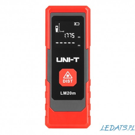 Laserowy miernik dystansu Uni-T LM20m