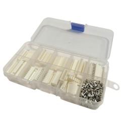 Zestaw złącz XH raster 2.54 mm (wtyki i gniazda) 6-7-8-9-10pin