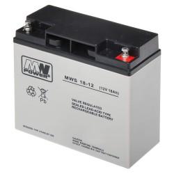 Akumulator MW Power MWS 18-12 (18Ah 12V)