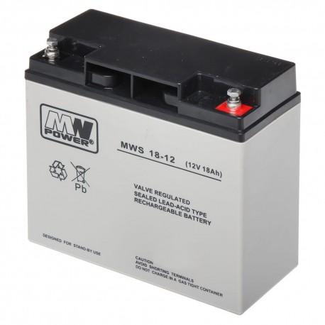 Battery MWpower 12V 7,2Ah