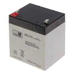 Akumulator MW Power MWS 5-12 (5Ah 12V)