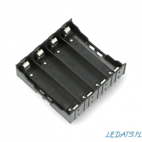 case for 4 battery type 18650