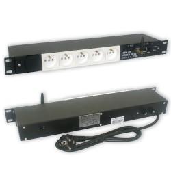 Zarządzalna listwa zasilająca IP + GSM Power Socket 5G10A V3
